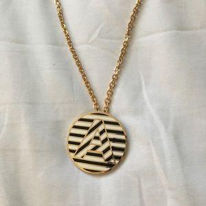 Kate Spade Monogramed Necklace